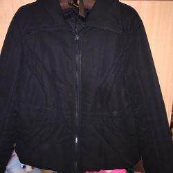 Sıcak kısaltılmış ceket.