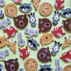 Κουμπιά Άγρια ζώα