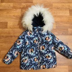 Куртка детская 4-5 лет. Тeплая.