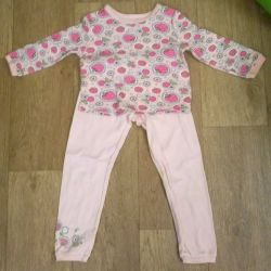 Pajamas for girls for 2-3 years