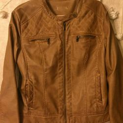 New eco-leather jacket