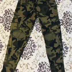 Camouflage pants khaki 42