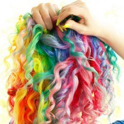 Κραγιόνια για βαφή μαλλιών (48 χρώματα)