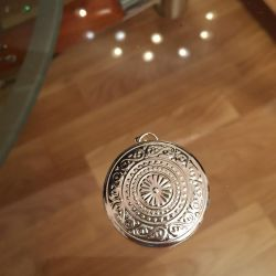 Medalion. Argint 925.