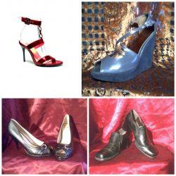 Farklı ayakkabılar. RR 37-37.5.