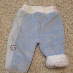 Новые тeплые штаны