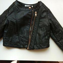 Jacket (eco-leather) for girls