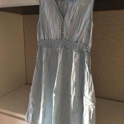 H&M mama платье джинсовое для беременной