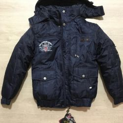 Winter jacket 134 new