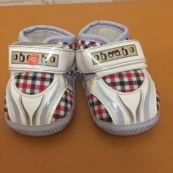Νέο !!! μποτάκια πάνινα παπούτσια 13 μέγεθος