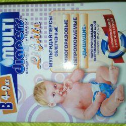 Multi-adapters (reusable diaper)