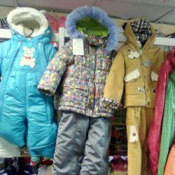 Yeni çocuk sonbahar ve kış ceketleri, takım elbise