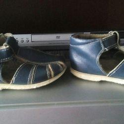 Sandale, piele, dimensiune 22