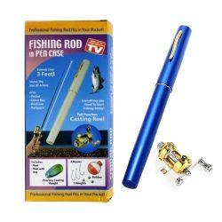 Mini tijă de pescuit în formă de stilou de pescuit PENTRU PEN noi