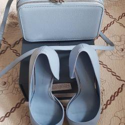 Ayakkabı + mini çanta Set