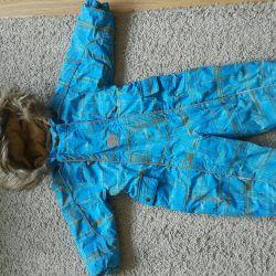 Used winter overalls for children Huppa