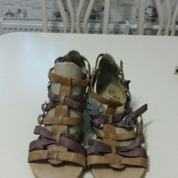 Sandals genuine leather 40size