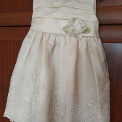 Праздничное платье на маленькую принцессу 🧚