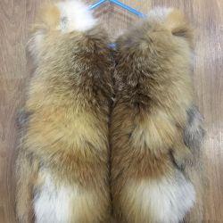 Νέο γιλέκο από αλεπού, 104 ρούβλια.