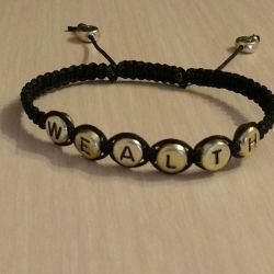 Bracelet with any inscription