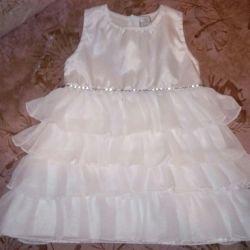 Küçük bir prenses için elbise