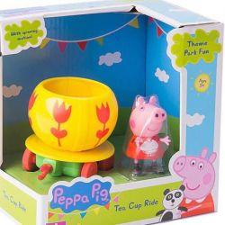 Фигурка Intertoy Peppa Pig Каталка Чашка с фигурк