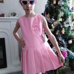 New warm fleece dress