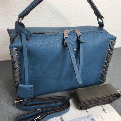 Fendi çantası mavi