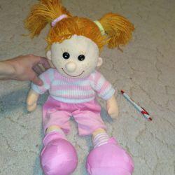 Large soft doll, 60 cm