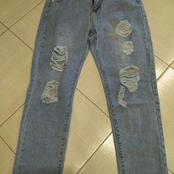 kot pantolon yeni. 29-30 s. yırtık. Süper müper.
