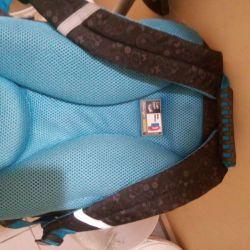 Orthopedic school backpack