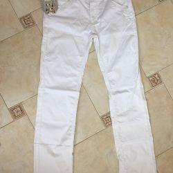 New white pants 32 size