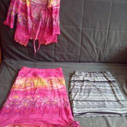 Много разных юбок