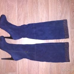 Suede boots 39
