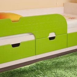 mini lime bed