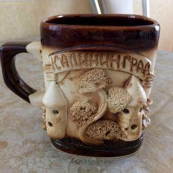 New souvenir mug Kaliningrad (exchange)