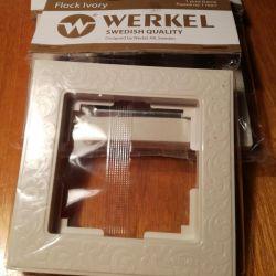 Πλαίσιο για πρίζες και διακόπτες της εταιρείας WERKEL