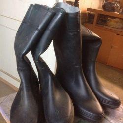Καλοκαιρινές μπότες από καουτσούκ