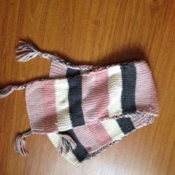 Scarf large knitting