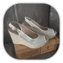 New French espadrilles 38 r