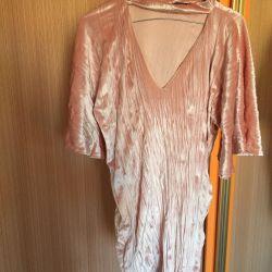 Kadife yeni elbise