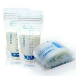 Pungi de depozitare pentru lapte