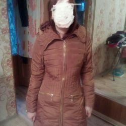 Women's down jacket, spring-autumn, warm winter