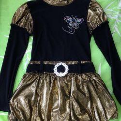 Κομψό φόρεμα r.122-128
