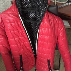 Çift taraflı kışlık ceket