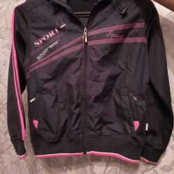 New sports jacket for a girl