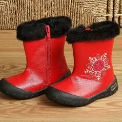 All-weather boots VINCENT genuine leather