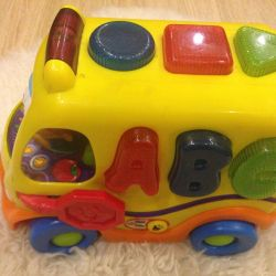 Educational toy fun bus