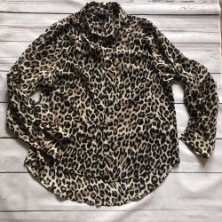 Chiffon leopard Shirt from Germany