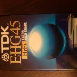 Tdk ehg45 vhsc video tape for camera